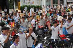 20110716_陽光彰化樂活100-鐵馬傳書香開卷啟程大會